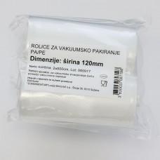 Role 12cm za vakuumsko pakiranje hrapave